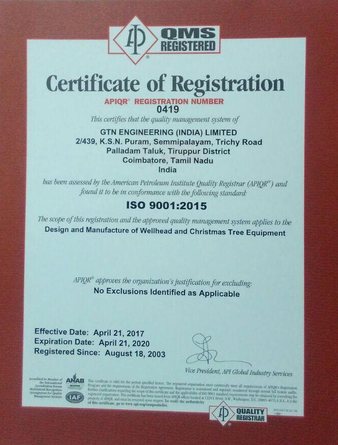 ISO-9001-2015(API)