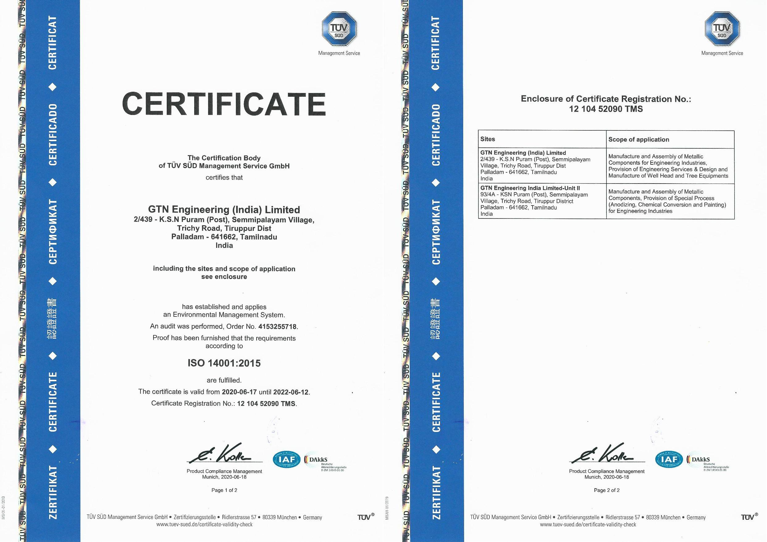 ISO-14001-2015 &