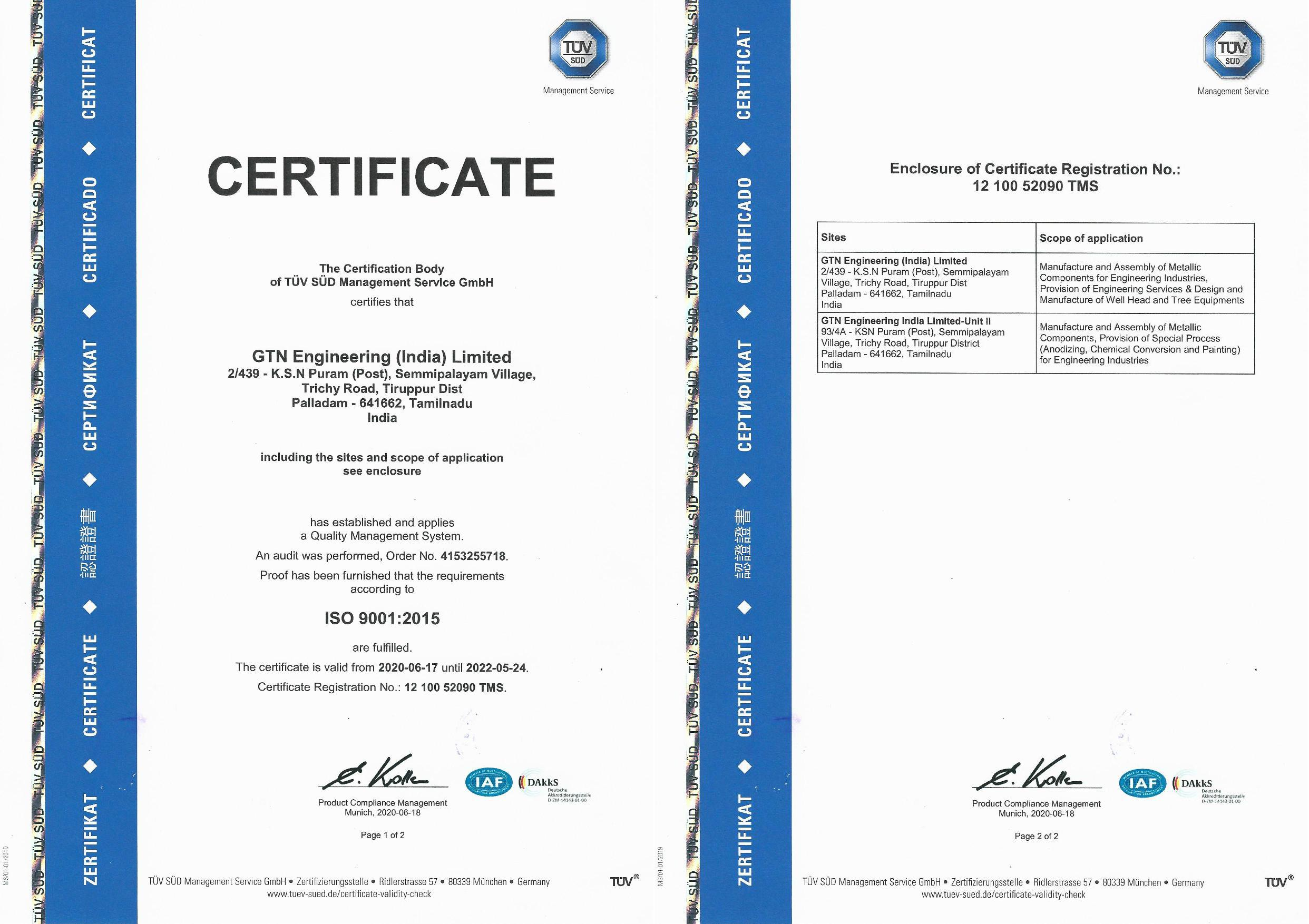 ISO-9001 &